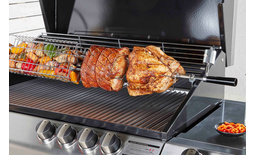 Ziegler & Brown Turbo Rotisserie Kit - Stainless Steel