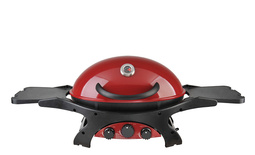 Triple Grill in Chilli Red - LP Gas