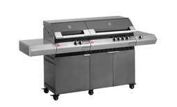Turbo Classic 6 Burner Barbeque with Side Burner