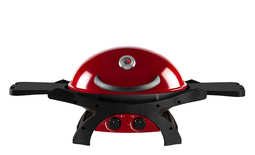 Twin Grill in Chilli Red - Natural Gas