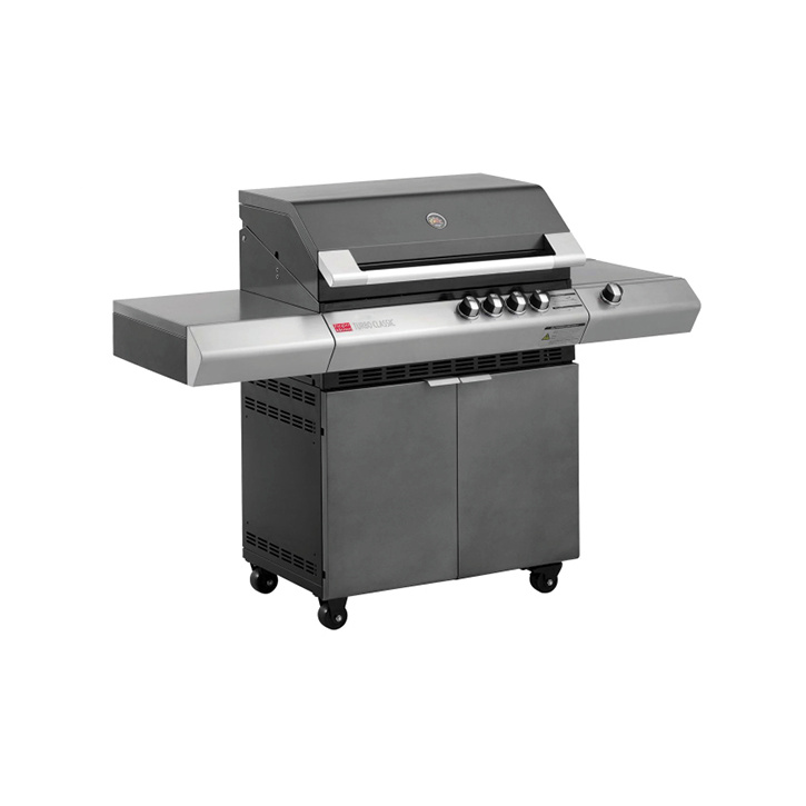 Turbo Classic 4 Burner Barbeque with Side Burner