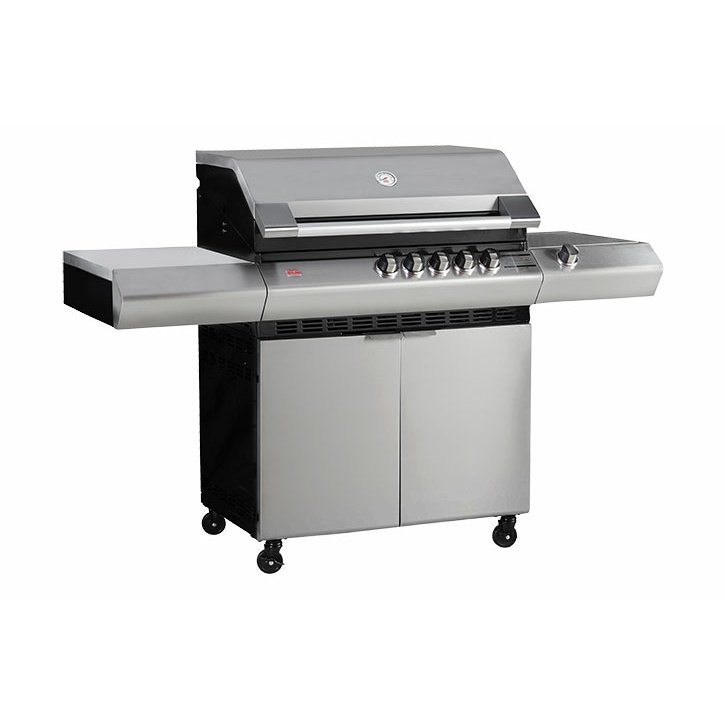Turbo Elite 5 Burner Barbeque with Side Burner